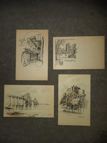 Stare pocztówki Wielka Brytania