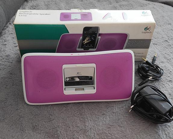 Stacja dokująca, głośnik do iPhone, Logitech S315i