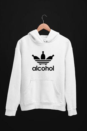 Bluza z kapturem Alcohol Adidas - męskie i damskie - dostępne 4 kolory