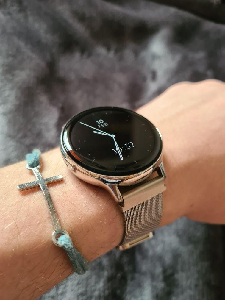 Samsung Galaxy Watch Acite 2 stalowy srebrny 44 mm smatwatch zegarek