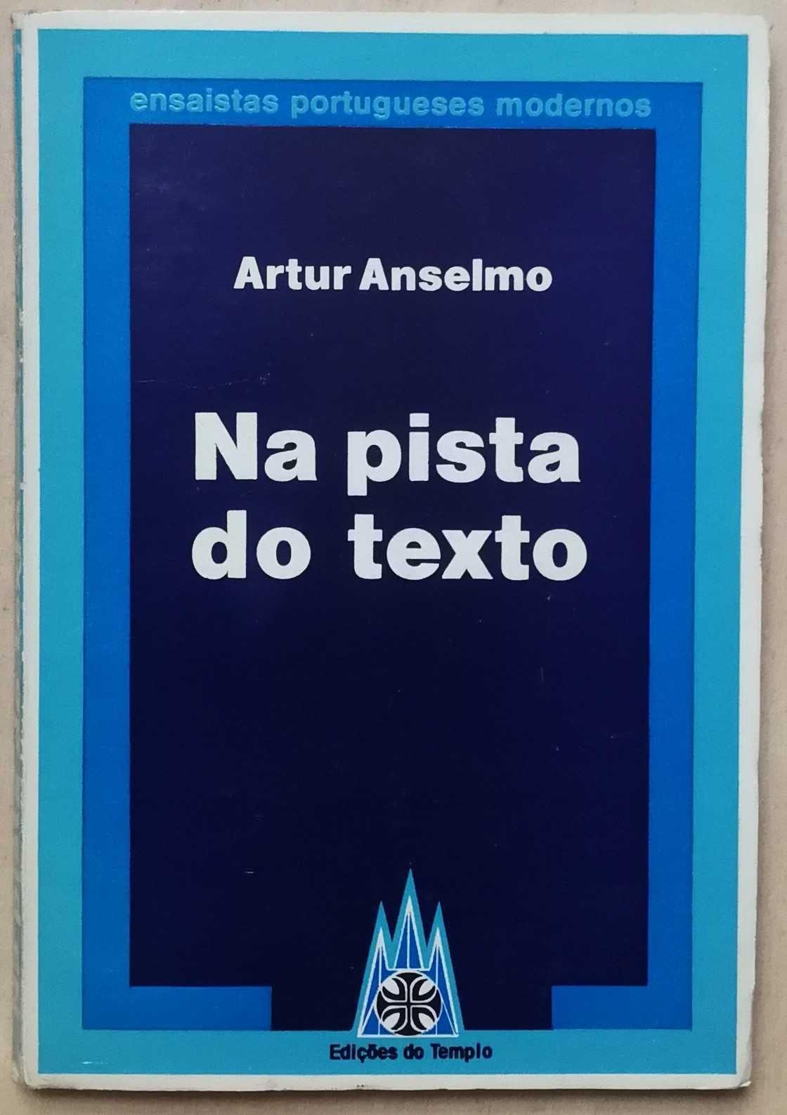 na pista do texto, artur anselmo