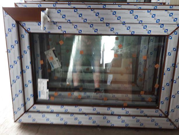 okno pcv 51x91 złoty dąb, nowe, tania wysyłka !