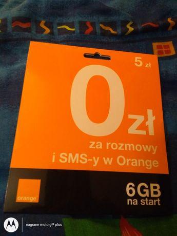 Złoty numer Orange