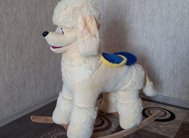 Качалка-собака новая