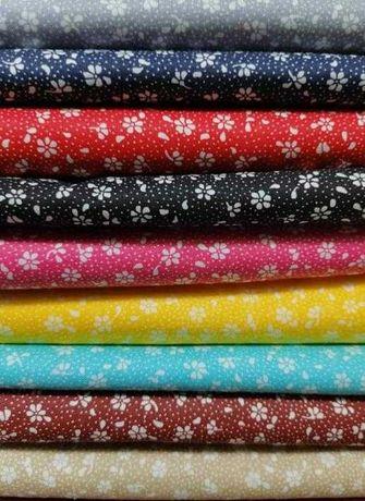 Zestaw tkanin dekoracyjnych