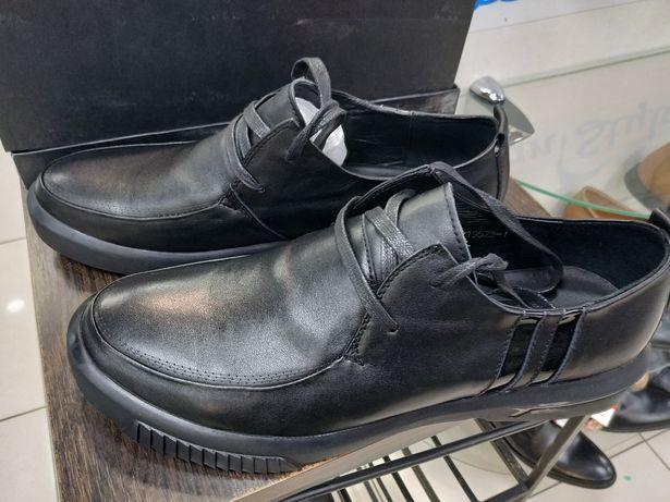 Туфли осенние кожа