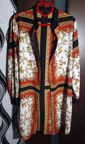 Блуза рубашка платье рубашка