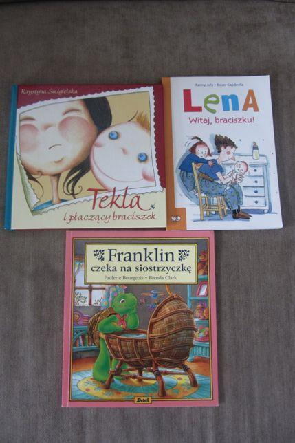 Zestaw książeczek przygotowujących dziecko na rodzeństwo