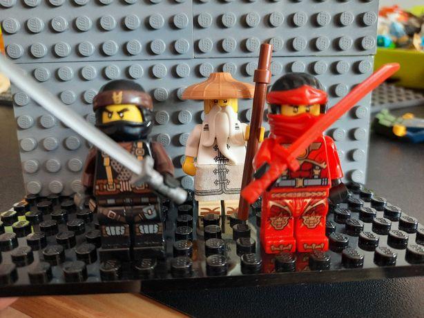 Lego ninjago figurki 2x kai i sensei wu