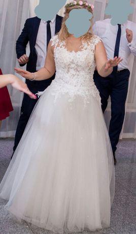 Suknia ślubna i bolerko na sprzedaż