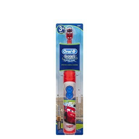 Детская электрическая зубная щетка Oral-B, Тачки, Принцесса