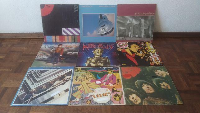 Discos de vinil, LP`s vários, Pink Floyd, Dire Straits, U2...