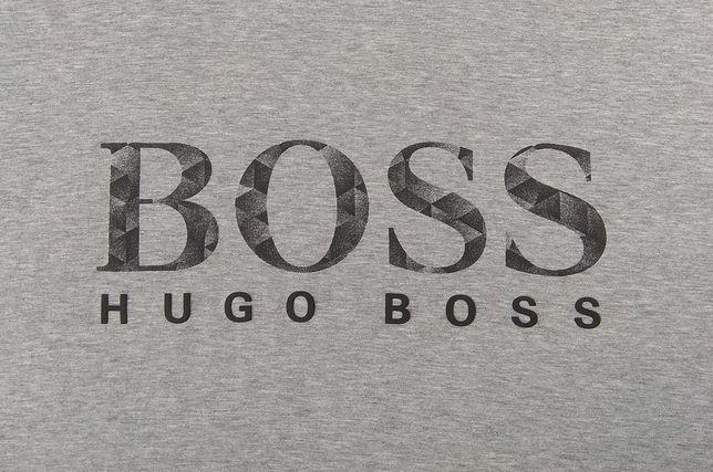 HUGO BOSS футболка серая Regular Fit оригинал XL