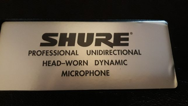 Mikrofon nagłowny Shure SM 10A CN