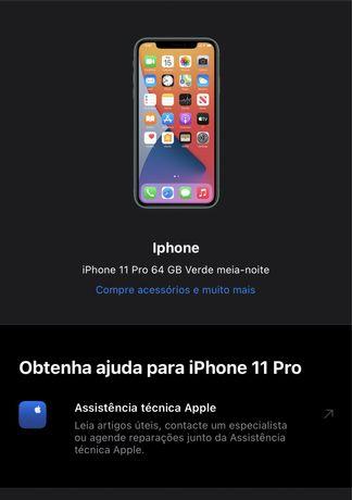 Iphone 11 Pro 64Gb Desbloqueado