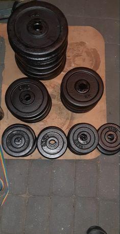 Obciążenie żeliwne w krazkach 2.5kg 5kg 10kg