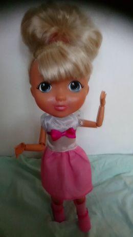 Sprzedam lalkę w różowej sukni