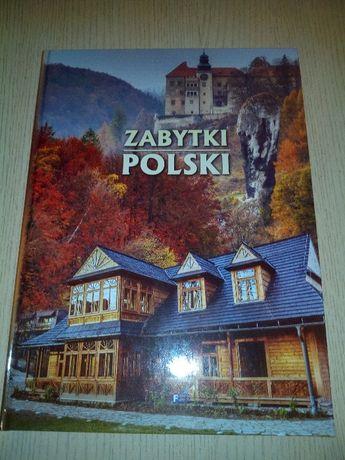 Książka zabytki Polski