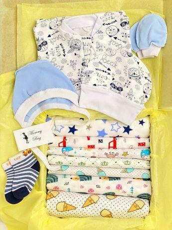 Мини набор пеленок 8+3 пеленки для мальчика или девочки + подарки!