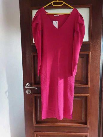 Dopasowana sukienka z dzianiny - Orsay rozmiar L