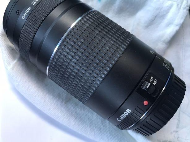Objectiva Canonn75/300mm