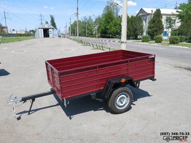 прицеп легковой усиленный с доставкой по Украине