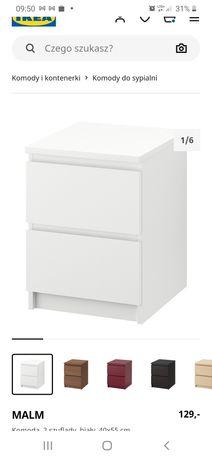 Komoda/szafka nocna MALM Ikea