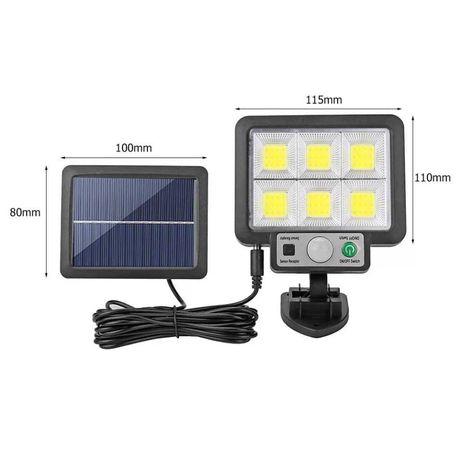 Luminária luz led de parede com sensor de movimento prova água