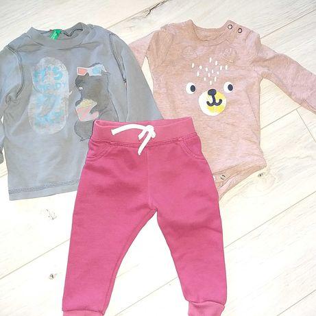 Dresy Primark, body, bluza United Colors of Benetton