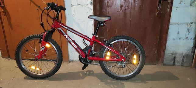 """Велосипед Norco детский (подростковый). Колеса 20"""". Рама алюминий."""