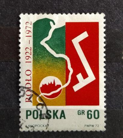 Znaczek pocztowy Polska 1972