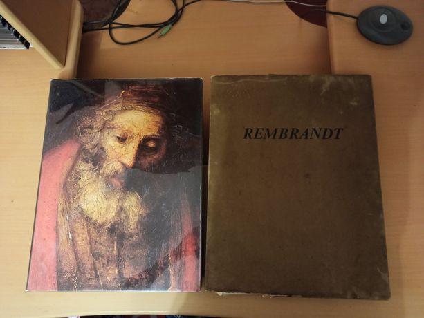 Rembrandt, книга Рембрандт 1975 год, СССР в суперобложке, с футляром.