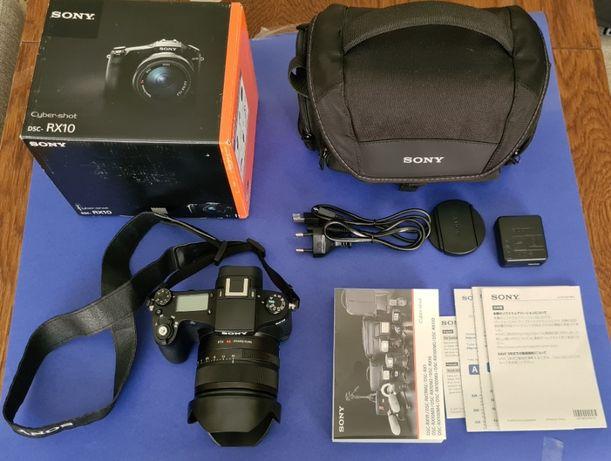Aparat SONY DSC-RX10 + karta 32GB + torba SONY - praktycznie nowy !