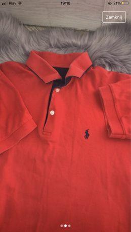 T-shirt męski kołnierzyk Ralph Lauren r. L