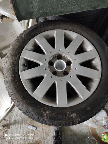 """Nissan primera 5x114,3 Felgi 17"""" +opony zimowe 2019r"""