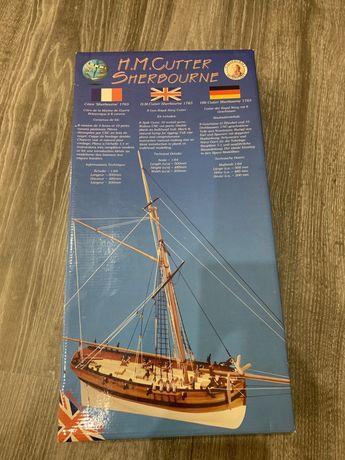 Сборная модель парусника Caldercraft HM Cutter Sherbourne 1763 1:64