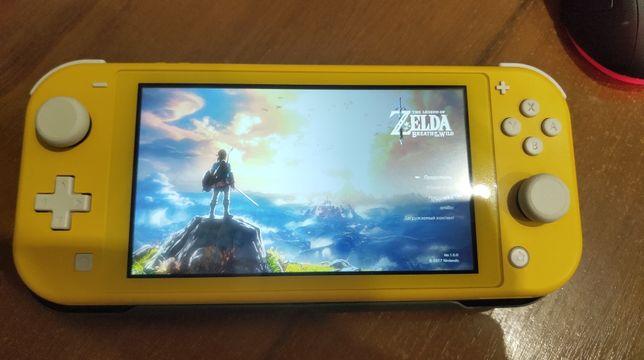Nintendo switch lite + игры