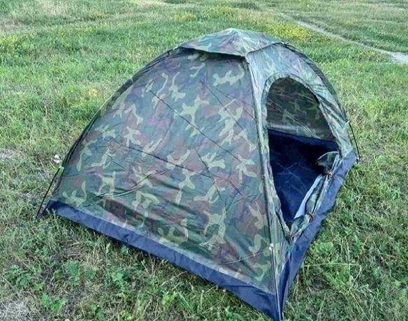 """Палатка туристическая водонепроницаемая """"Хаки"""" 2х1,5м"""