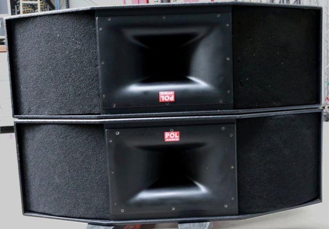 POL-Audio 4x SAT 215 CX2 oraz 4x TK 118 Big Disco Kolumny Dyskoteka