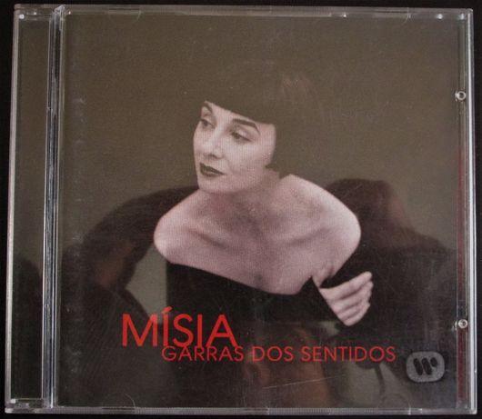 CD - Misia, Garras dos Sentidos, como novo