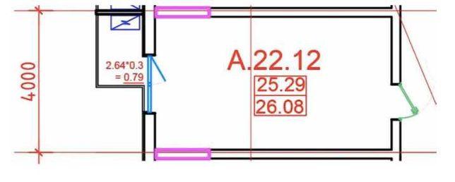 коммерция Офис с балконом в ITOWN комплексе 26 кв.м. Без Комиссии