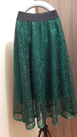 Спідниця жіноча смарагдового кольору