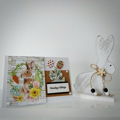 Kartka Wielkanocna + koperta