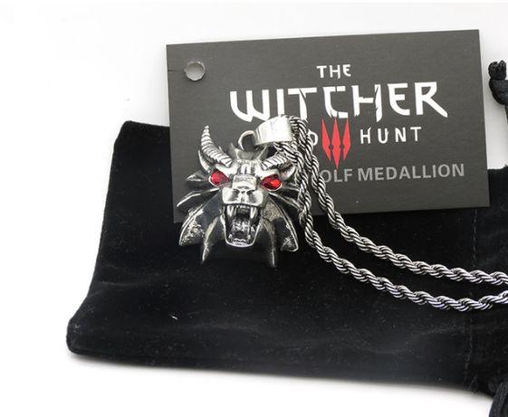 Medalion WIEDŹMIN Szkoła Mantikory UNIKAT Witcher Dziki Gon Geralt