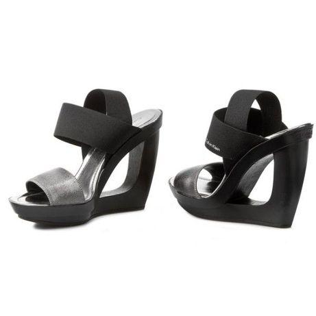 Calvin Klein sandały koturny jak nowe rozm.39