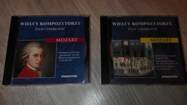 Mozart Wielcy kompozytorzy - życie i twórczość deAgostini Płyty CD