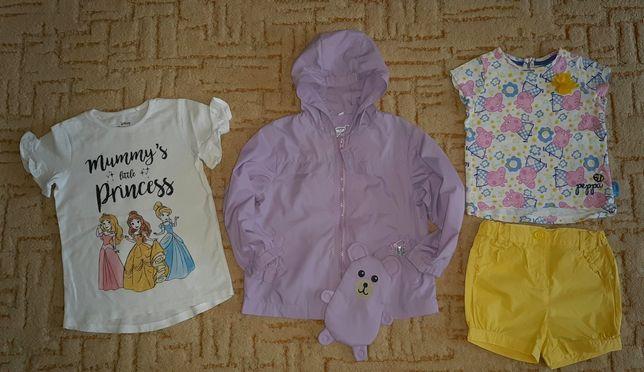 Ветровка курточка кофта футболка Свинка Пеппа Принцессы Дисней Next