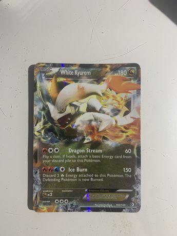 Carta Pokemon White Kyurem EX