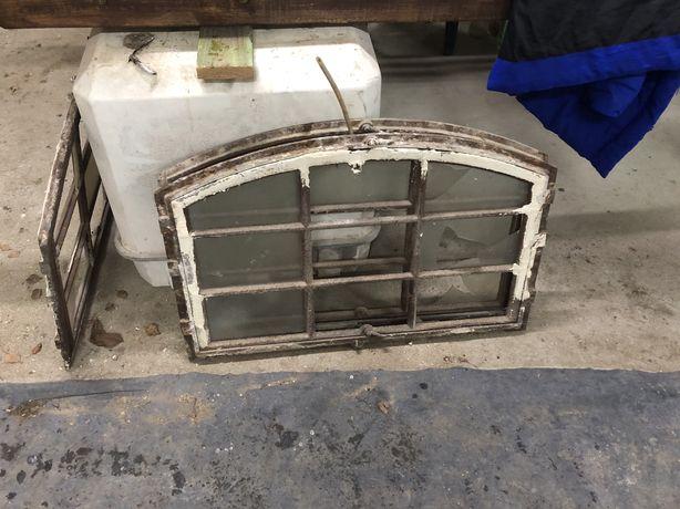 Okna poniemieckie metalowe