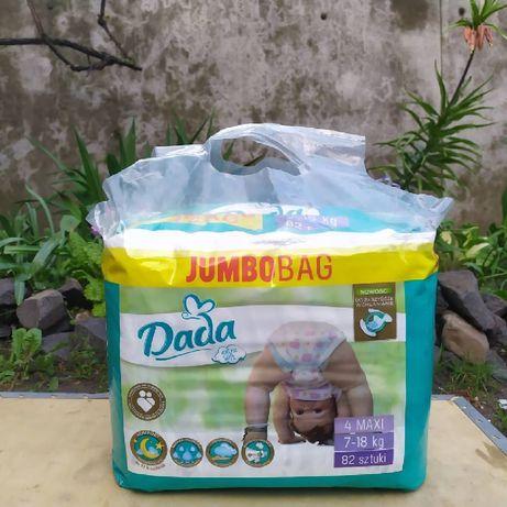 Підгузники памперси Дада Dada jumbo bag 5 junior 4 maxi 3 midi